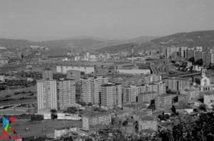 Vista de Retuerto y el TBC desde el Argalario